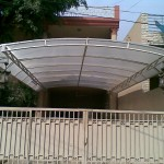 Canopy at MQM House in Lahore