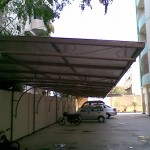 Car Parking Shed at Riaz Sb Cantt Station